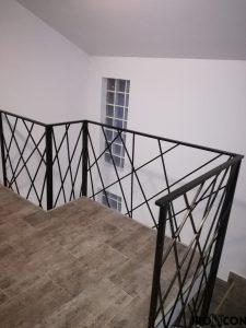balustrada din fier forjat
