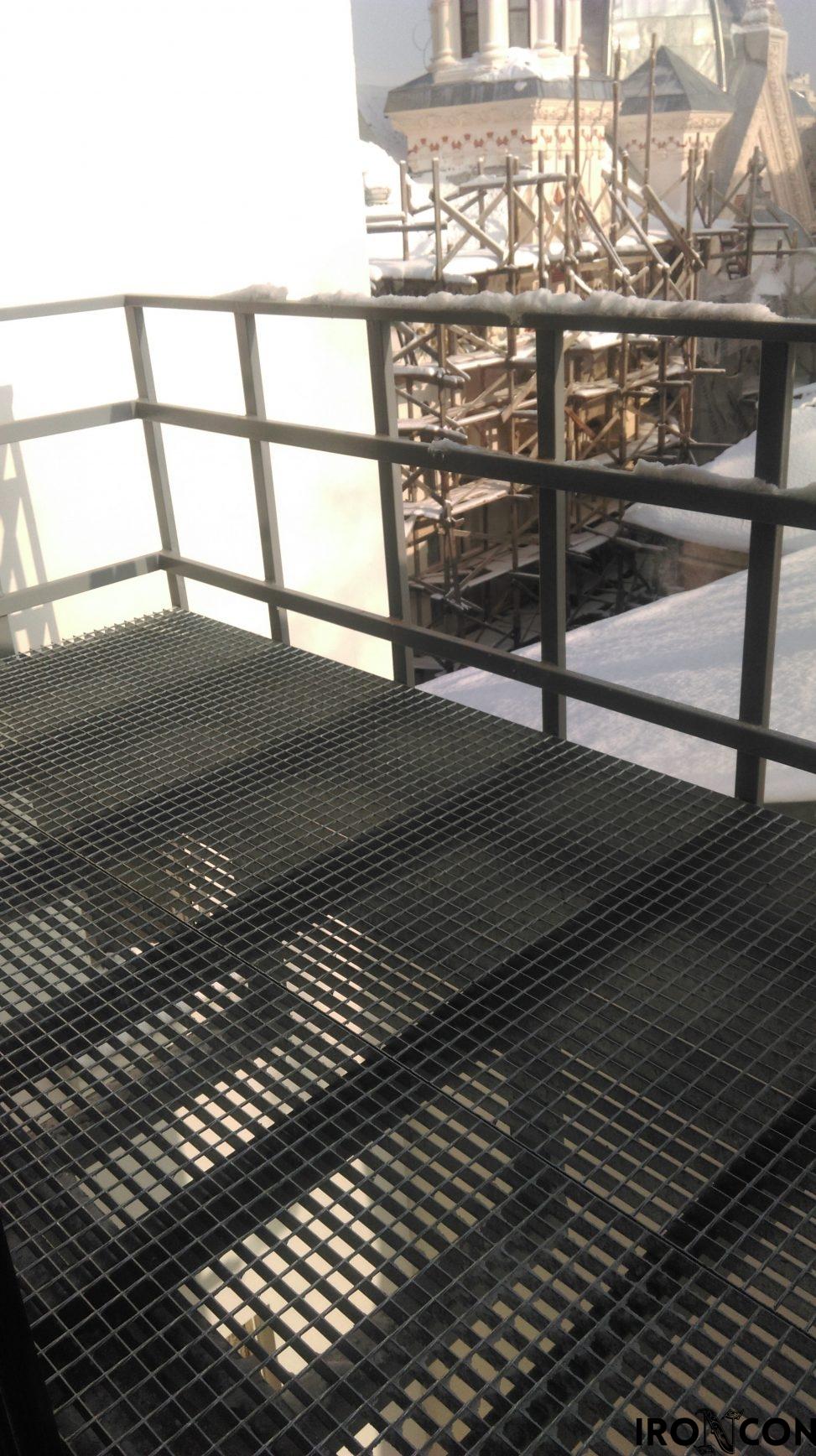 balcon fier forjat in consola 40001-1