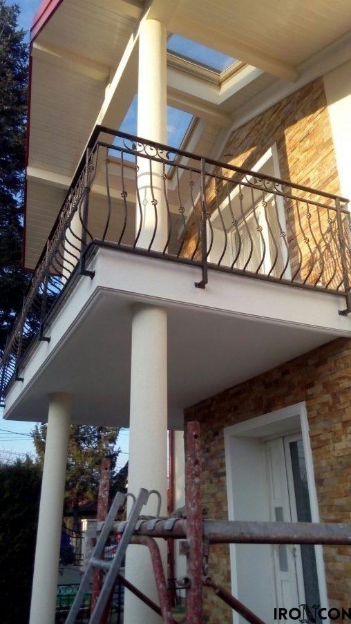 balustrada balcon fier 10069-1