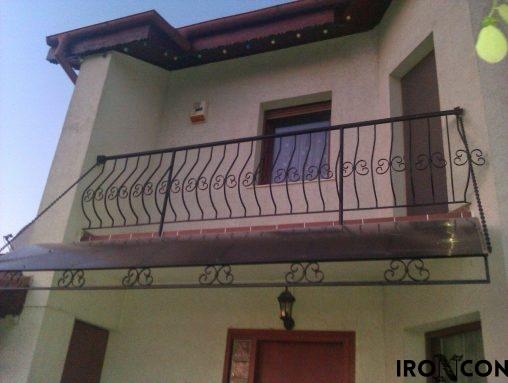 balustrada balcon fier 10070-1