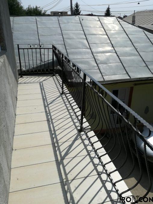 balustrada balcon fier 10073-1