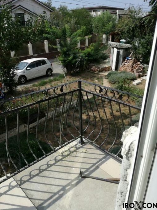 balustrada balcon fier 10074