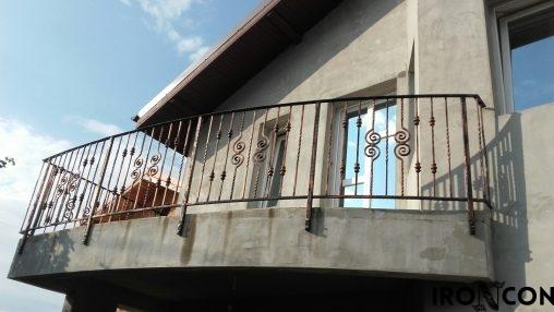 balustrada balcon fier 10075-1