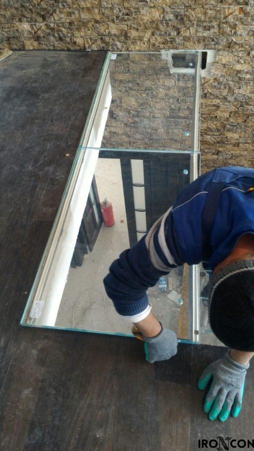pardoseala sticla securizata 8004